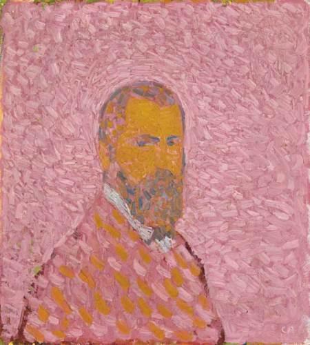 Cuno Amiet, autoritratto in rosa, 1907 © M. + D. Thalmann, Herzogenbuchsee