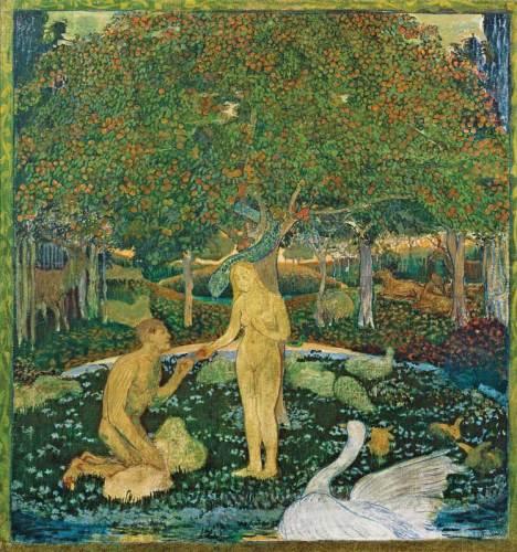 Cuno Amiet, Paradiso, 1894