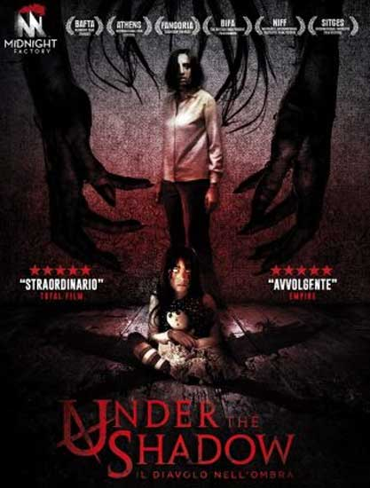 il poster del film Under the Shadow (2016)