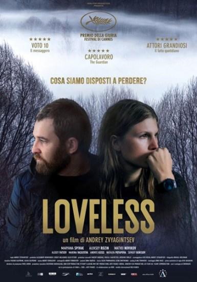 il poster italiano del film Loveless