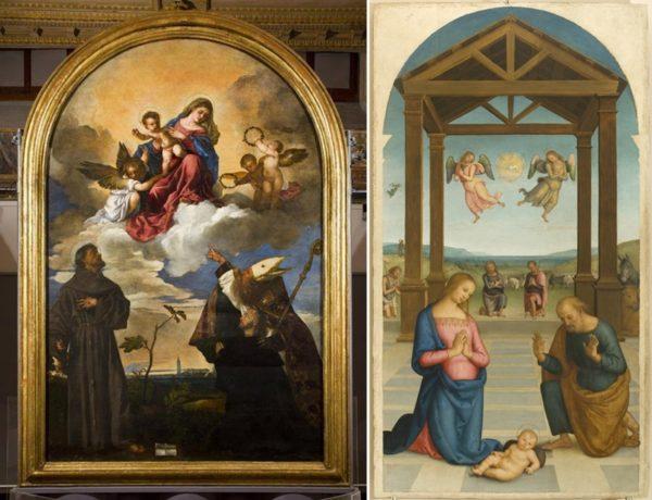 Grandi mostre di arte a Milano: Tiziano a Palazzo Marino e Perugino al Museo Diocesano