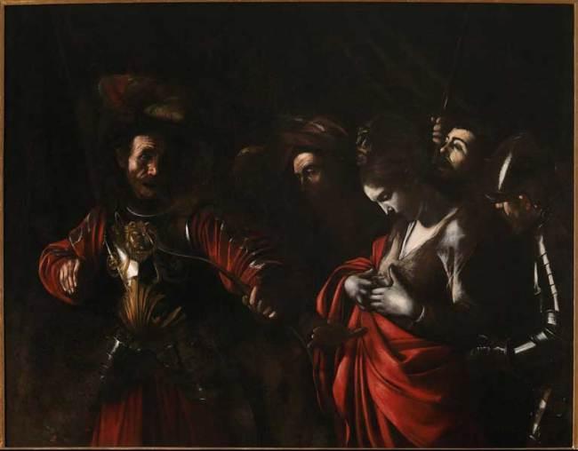 L'ultimo Caravaggio - Michelangelo Merisi, Martirio di sant'Orsola, 1610 - olio su tela, 143 x 180 cm - Collezione Intesa Sanpaolo, Gallerie d'Italia – Palazzo Zevallos Stiglian
