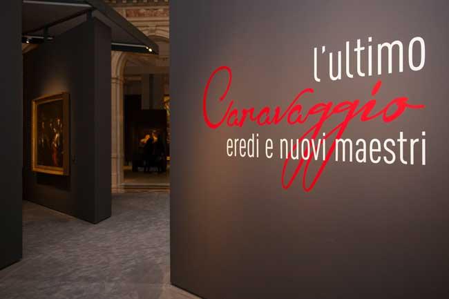 L'ultimo Caravaggio - L'allestimento della mostra © Ph. Maurizio Tosto