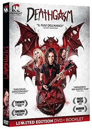 la cover del DVD del film Deathgasm