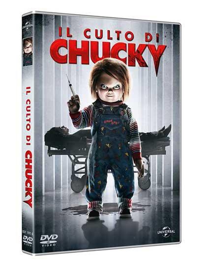 la cover del DVD del film Il Culto di Chucky