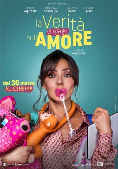 il poster del film La verità vi spiego sull'amore