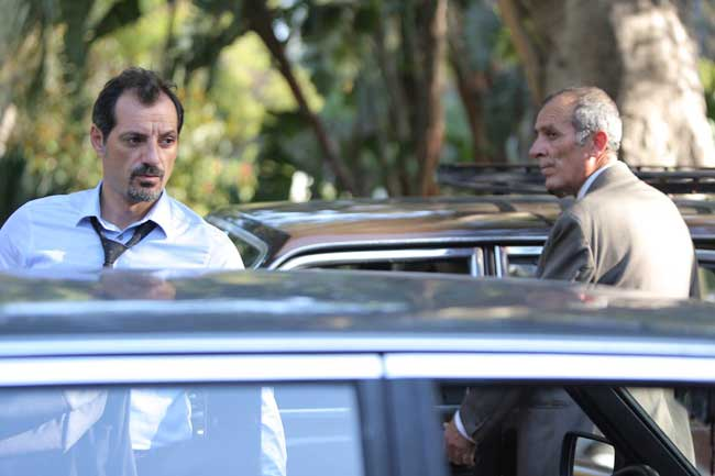 Adel Karam e Kamel El Basha nel film L'insulto (2017) - Photo: courtesy of Lucky Red