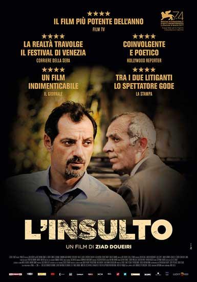 la locandina italiana del film L'insulto