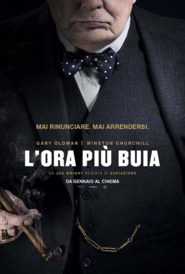 la locandina italiana del film L'ora più buia