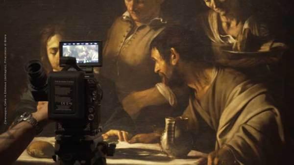 Caravaggio – l'Anima e il Sangue, 2018 Caravaggio, Cena in Emmaus (dettaglio), Pinacoteca di Brera, Milano