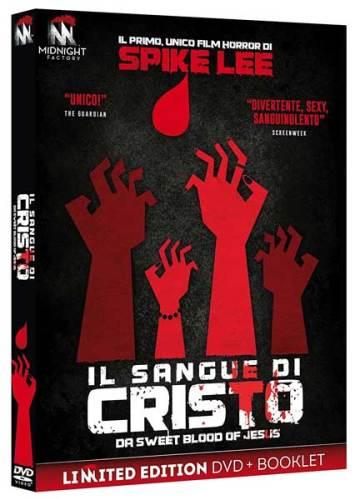 la cover del DVD del film horror Il Sangue Di Cristo