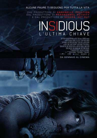 Il poster italiano del film Insidious – L'Ultima Chiave