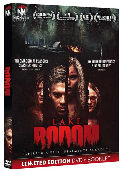 La cover del DVD del film horror Lake Bodom