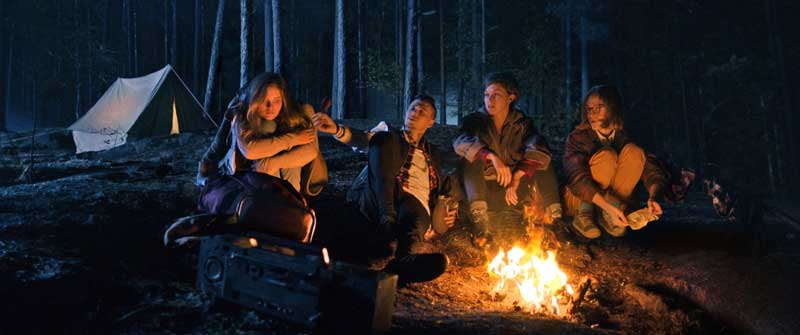 Una scena del film horror Lake Bodom - Photo: courtesy of Midnight Factory