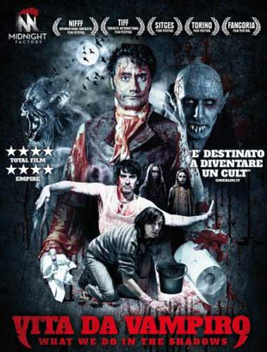 la cover di Vita da Vampiro (What We Do In The Shadows)