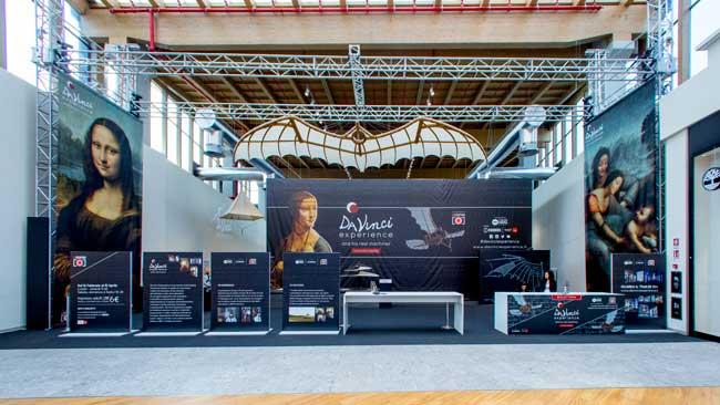 La Da Vinci Experience presso Il Centro di Arese