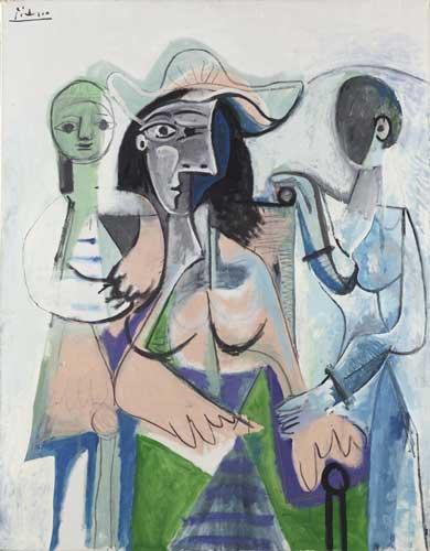 Impressionismo e Avanguardie: Pablo Picasso Donna e bambine
