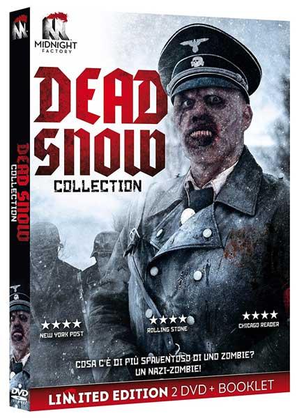 la cover del cofanetto di Dead Snow