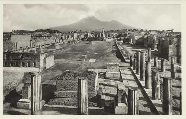 Ercolano e Pompei: F.lli Alinari, Pompei. Foro Civile