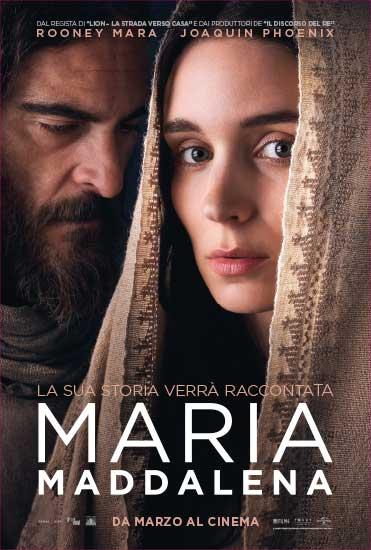 la locandina italiana del film Maria Maddalena