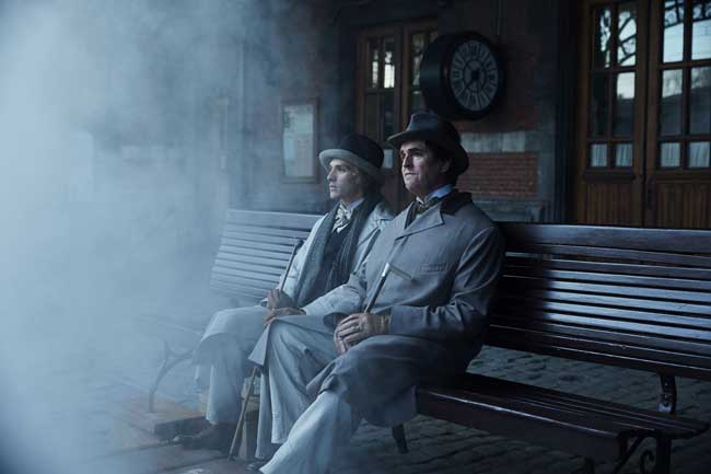 Colin Morgan e Rupert Everett nel film The Happy Prince - Photo © Wilhelm Moser