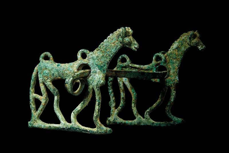 Morso raffigurante cavalli, collezione Giannelli - Foto: Michele Ostini