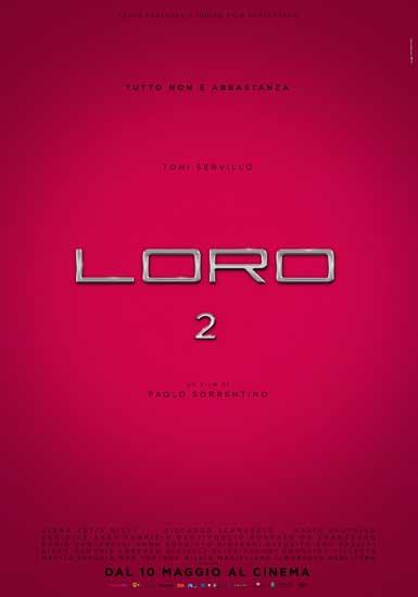 La locandina del film LORO 2