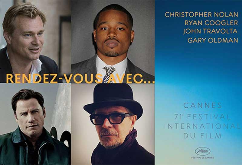 Gli ospiti più attesi a Cannes 2018: Christopher Nolan, Ryan Coogler, John Travolta et Gary Oldman - Photo courtesy of FDC