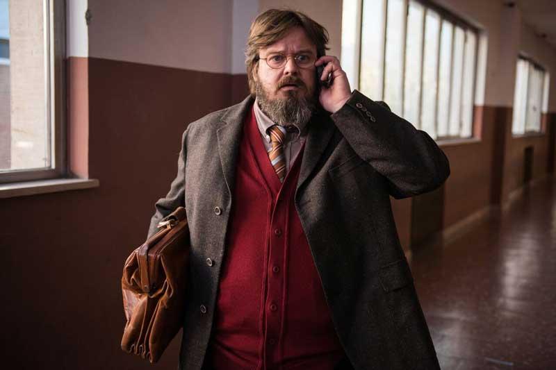 Giuseppe Battiston nel film Hotel Gagarin - Photo: Andrea Miconi