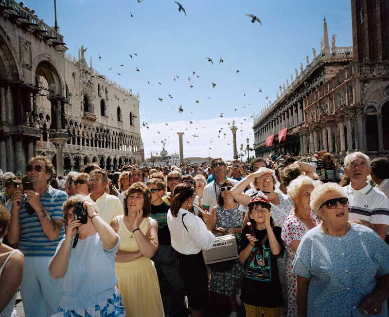 L'Italia di Magnum - Martin Parr, Venezia, 1989 - Photo by Martin Parr / Magnum Photos