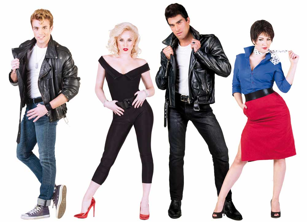 i protagonisti di Grease il musical in scena questa estate 2018