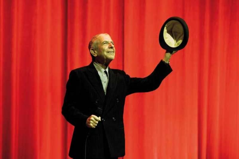 Guido Harari, Leonard Cohen, Milano, Teatro degli Arcimboldi, 23 ottobre 2008 - copyright Guido Harari