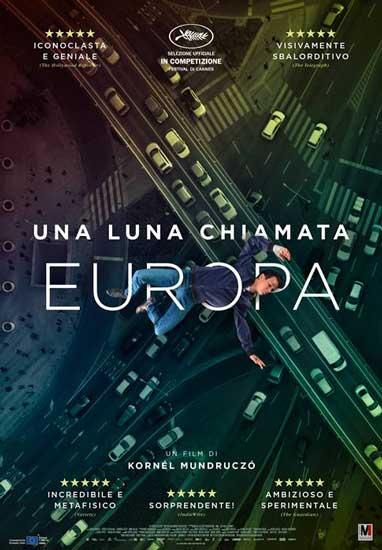 La locandina del film Una Luna Chiamata Europa