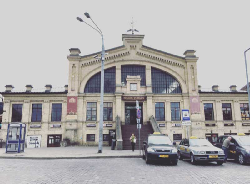 il mercato coperto di Vilnius - Photo by Anna Falciasecca