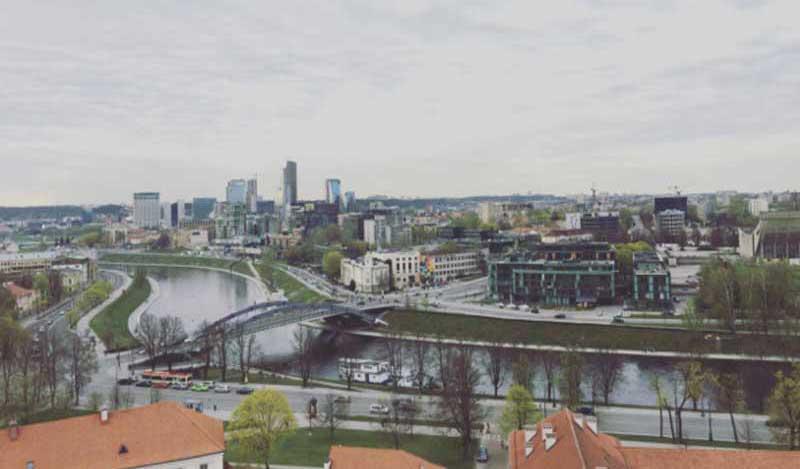 Vilnius, panorama - Photo by Anna Falciasecca