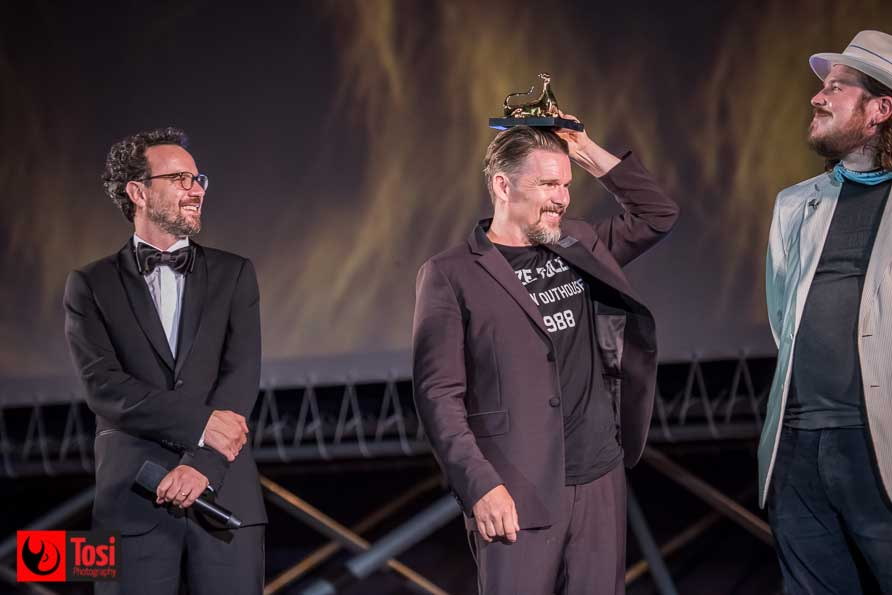 Ethan Hawke in Piazza Grande a Locarno - Tosi Photography