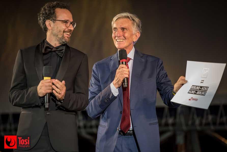 Carlo Chatrian riceve da Marco Solari un biglietto aereo A/R - Tosi Photography