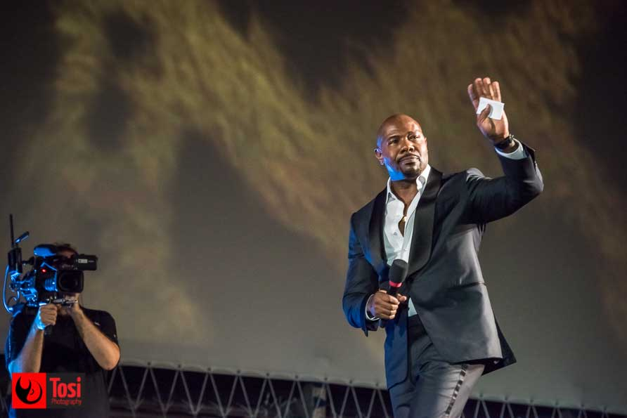 Antoine Fuqua in Piazza Grande - Ph Tosi Photography