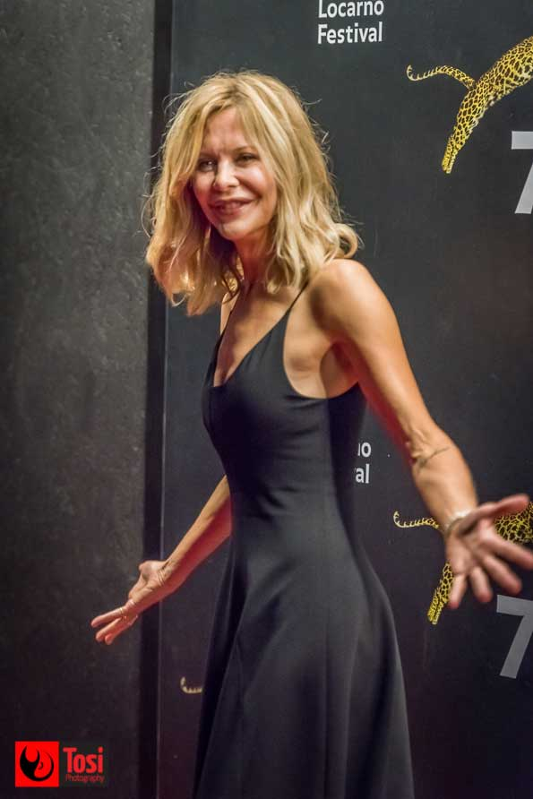 Meg Ryan sul red carpet - Ph Tosi Photogrphy