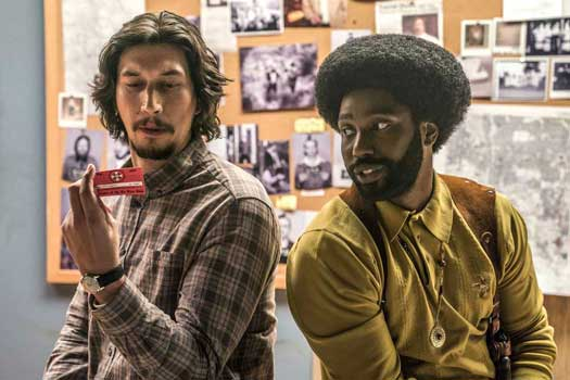 Un'immagine del film Blackkklansman - Photo: courtesy of Locarno Festival