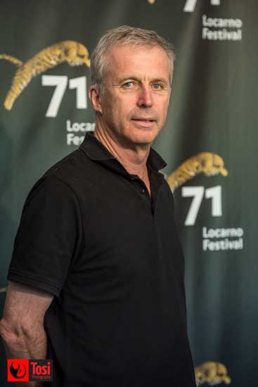 Bruno Dumont a Locarno 71 riceve il Pardo d'Onore Manor - Photo credit: Tosi Photography