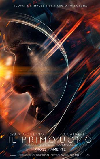 il primo poster italiano del film First Man