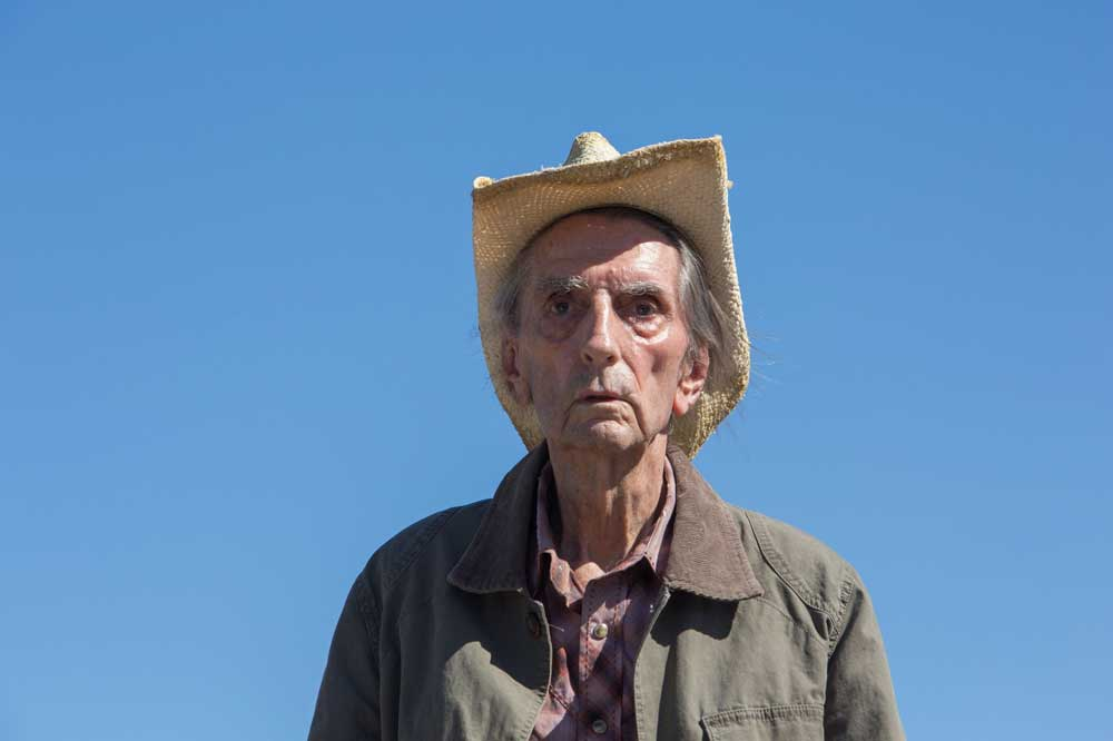 Harry Dean Stanton nel film Lucky - Photo: courtesy of Wanted Cinema
