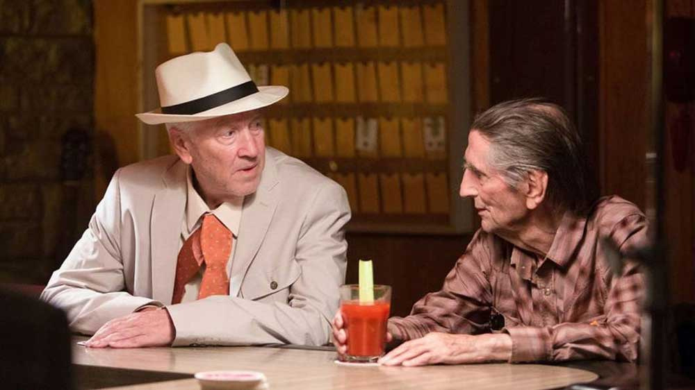 Harry Dean Stanton e David Lynch nel film Lucky - Photo: courtesy of Wanted Cinema