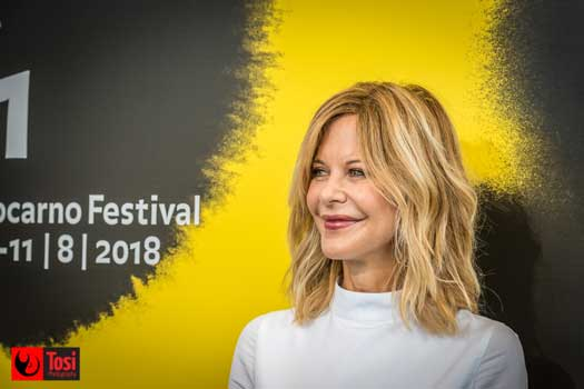 Meg Ryan si racconta al Locarno Festival 2018 - Photo: Tosi Photography