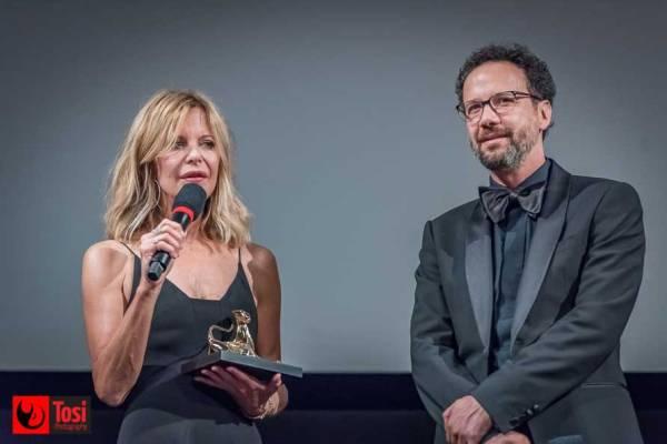 Meg Ryan con Carlo Chatrian al FEVI il 3 agosto - Photo credits: Tosi Photography
