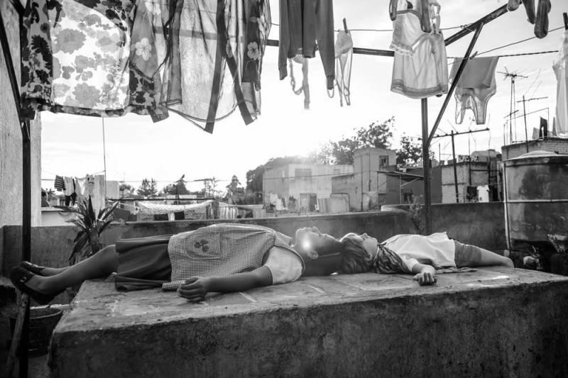 un'immagine del film Roma di Alfonso Cuaron- Photo: courtesy of Biennale
