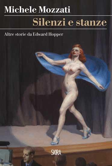 la copertina del libro Silenzi e Stanze: Edward Hopper, Girlie Show, 1941