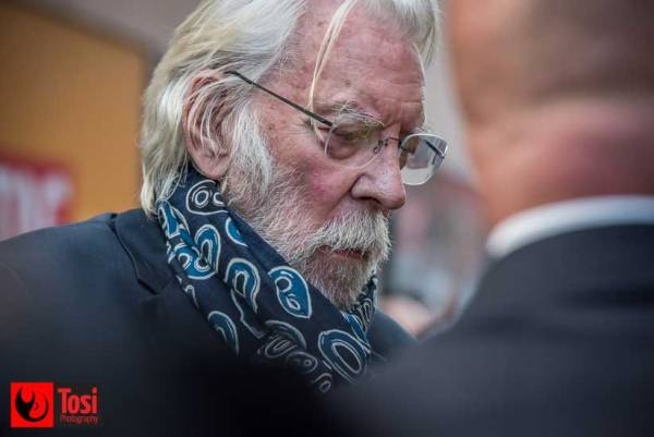 ZFF2018 Donald Sutherland - Tosi Photography