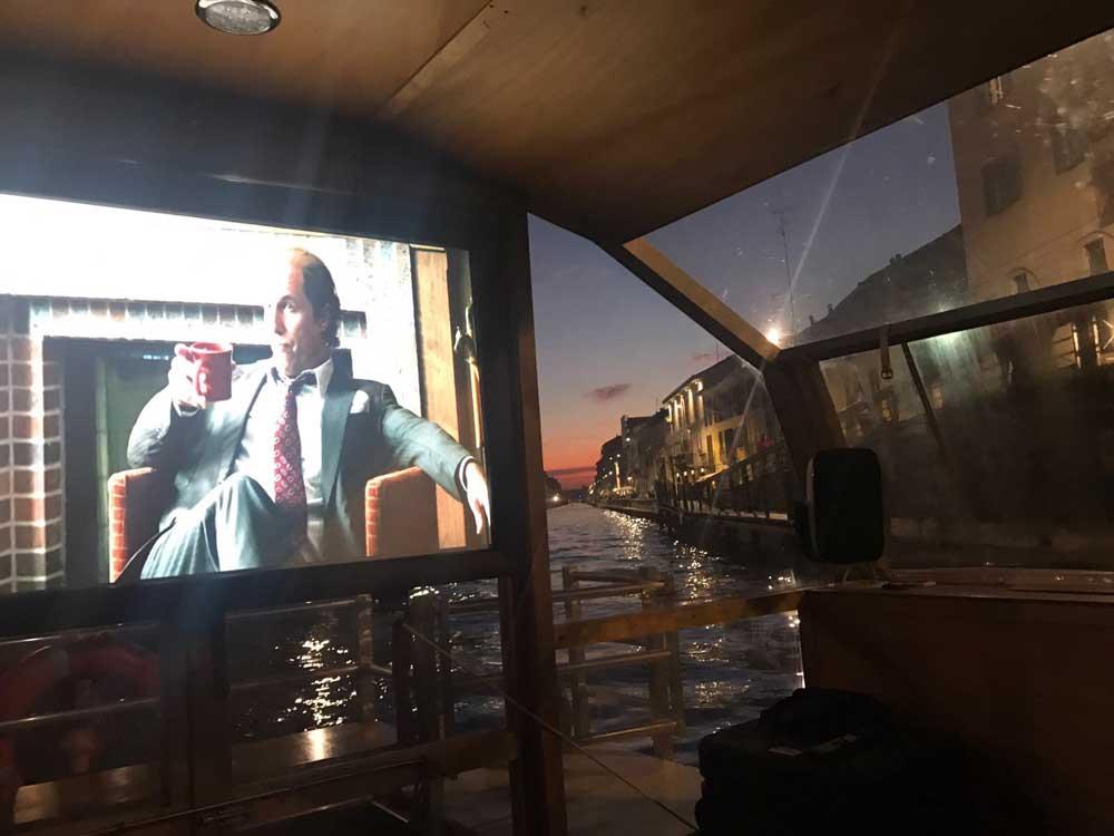 Cinema Bianchini in battello 2018